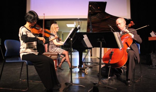 The American Chamber Ensemble performed works by LICA Composers at Hofstra University in the fall of 2016.